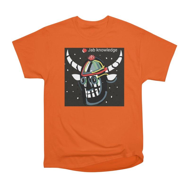 Jab knowledge Women's Heavyweight Unisex T-Shirt by Mozayic's Artist Shop