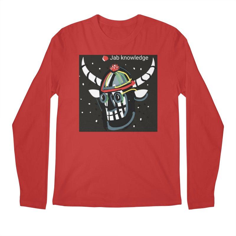 Jab knowledge Men's Regular Longsleeve T-Shirt by Mozayic's Artist Shop