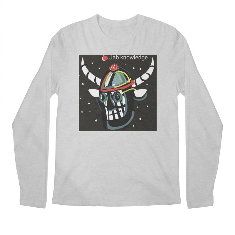 Jab knowledge Men's Regular Longsleeve T-Shirt by Mozayic's Artist Shop