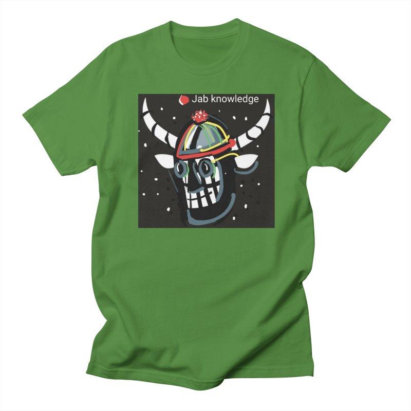 Jab knowledge Men's Regular T-Shirt by Mozayic's Artist Shop