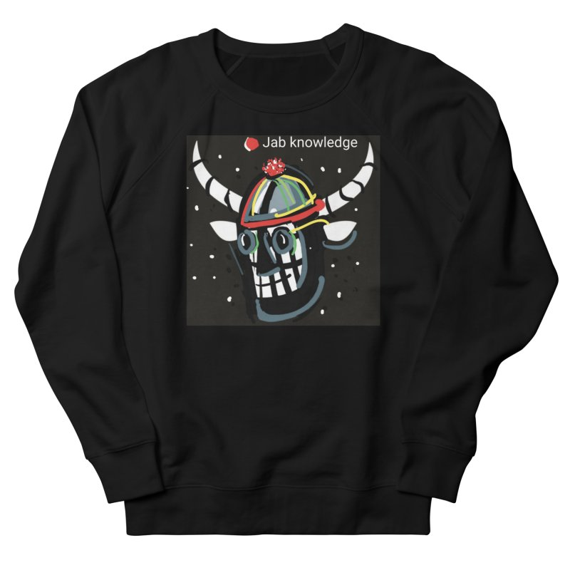Jab knowledge Men's French Terry Sweatshirt by Mozayic's Artist Shop