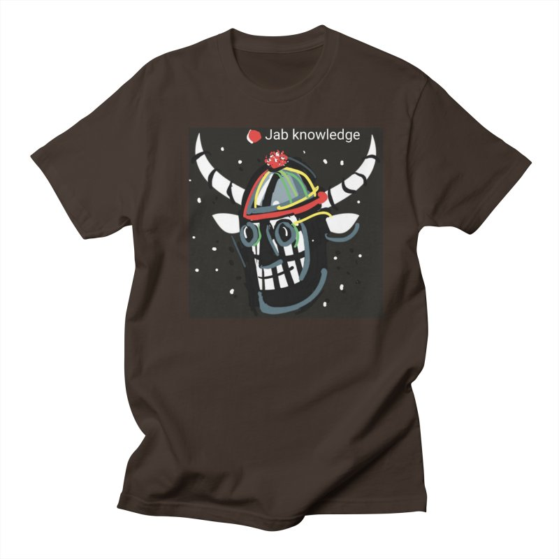 Jab knowledge Men's Regular T-Shirt by Mozayic's Artist Shop