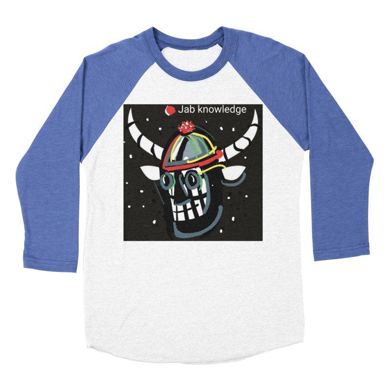 Jab knowledge Men's Baseball Triblend Longsleeve T-Shirt by Mozayic's Artist Shop