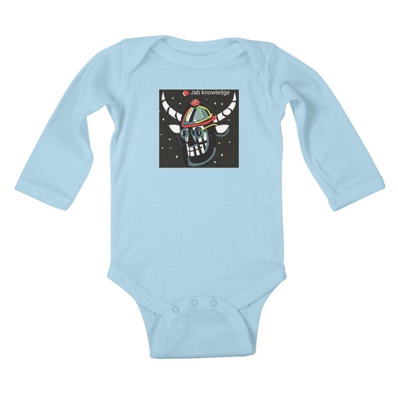 Jab knowledge Kids Baby Longsleeve Bodysuit by Mozayic's Artist Shop