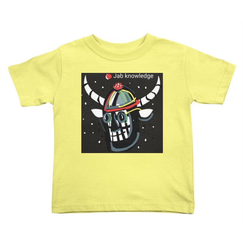 Jab knowledge Kids Toddler T-Shirt by Mozayic's Artist Shop