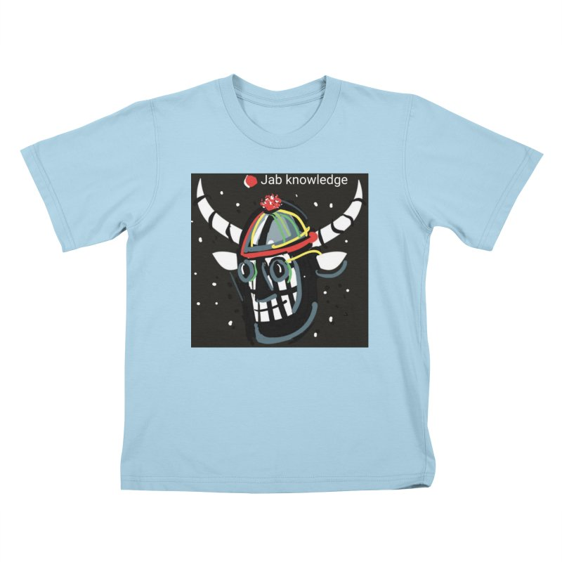 Jab knowledge Kids T-Shirt by Mozayic's Artist Shop