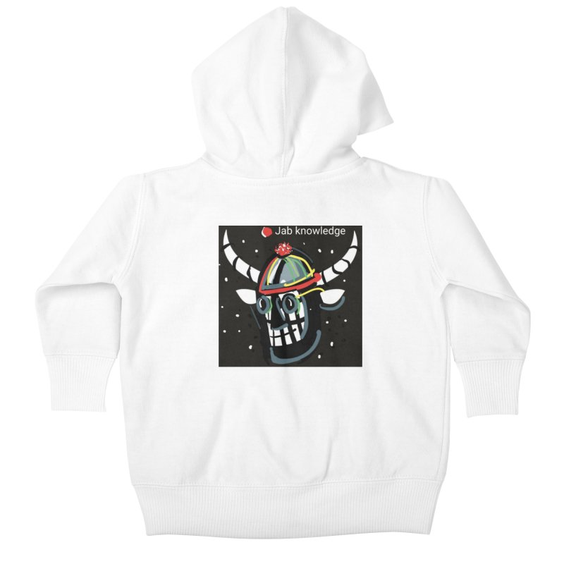 Jab knowledge Kids Baby Zip-Up Hoody by Mozayic's Artist Shop