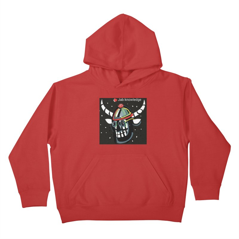 Jab knowledge Kids Pullover Hoody by Mozayic's Artist Shop