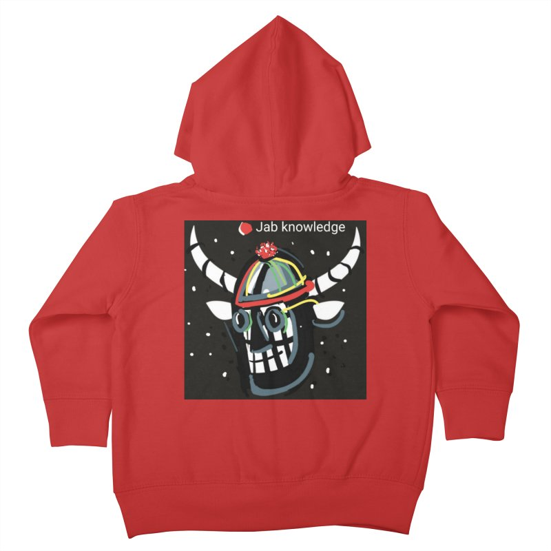 Jab knowledge Kids Toddler Zip-Up Hoody by Mozayic's Artist Shop