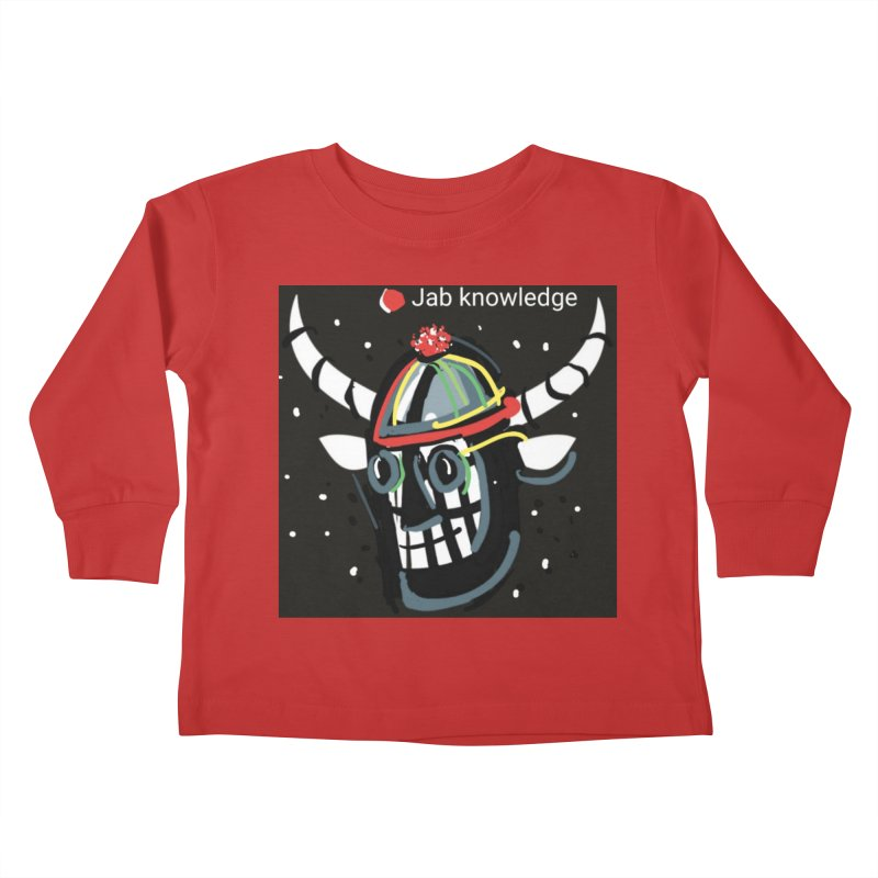 Jab knowledge Kids Toddler Longsleeve T-Shirt by Mozayic's Artist Shop