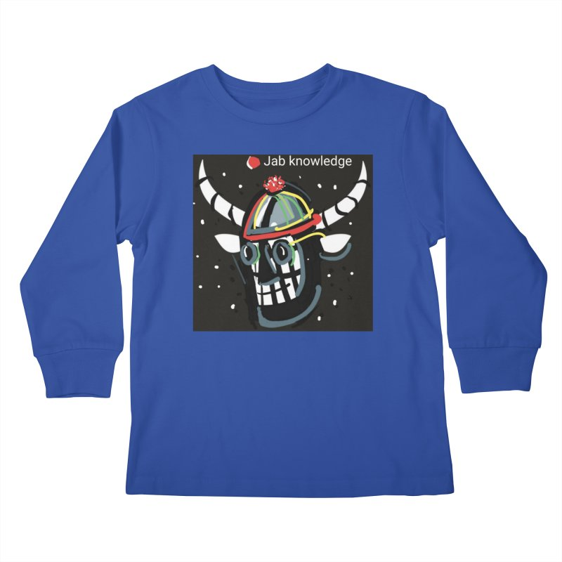 Jab knowledge Kids Longsleeve T-Shirt by Mozayic's Artist Shop