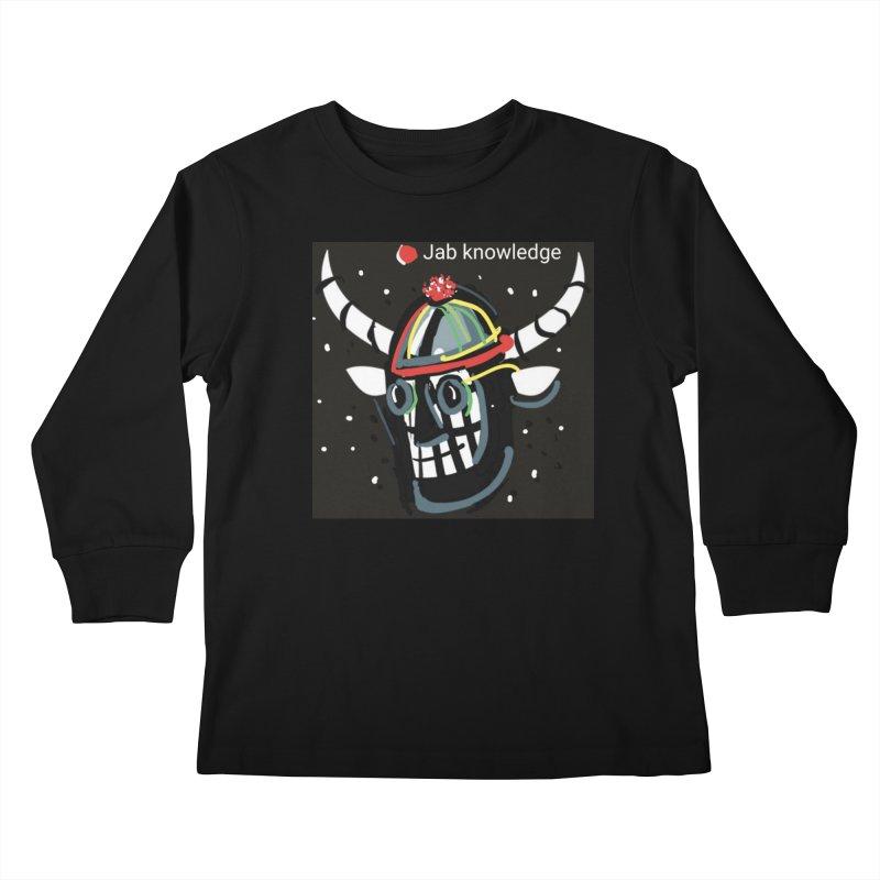 Jab knowledge Kids Longsleeve T-Shirt by Mozayic's Artist Shop