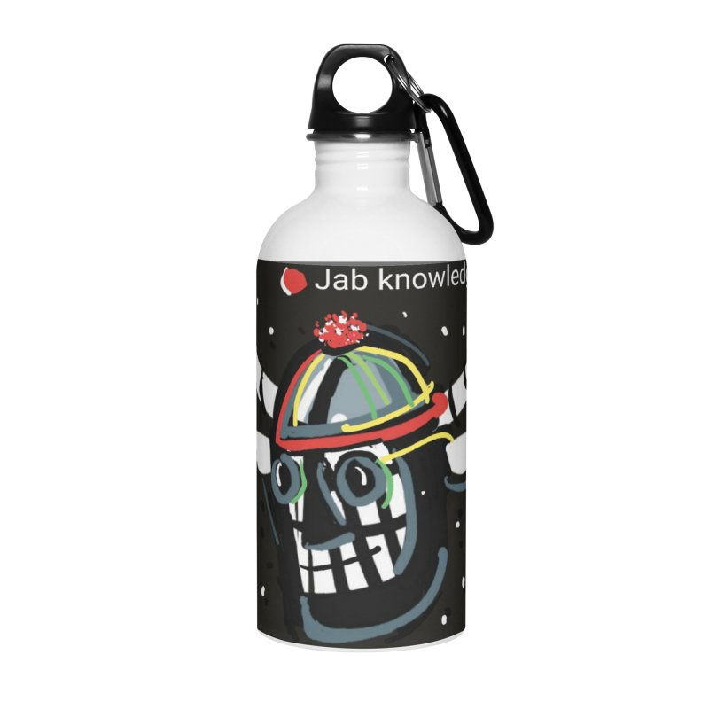 Jab knowledge Accessories Water Bottle by Mozayic's Artist Shop