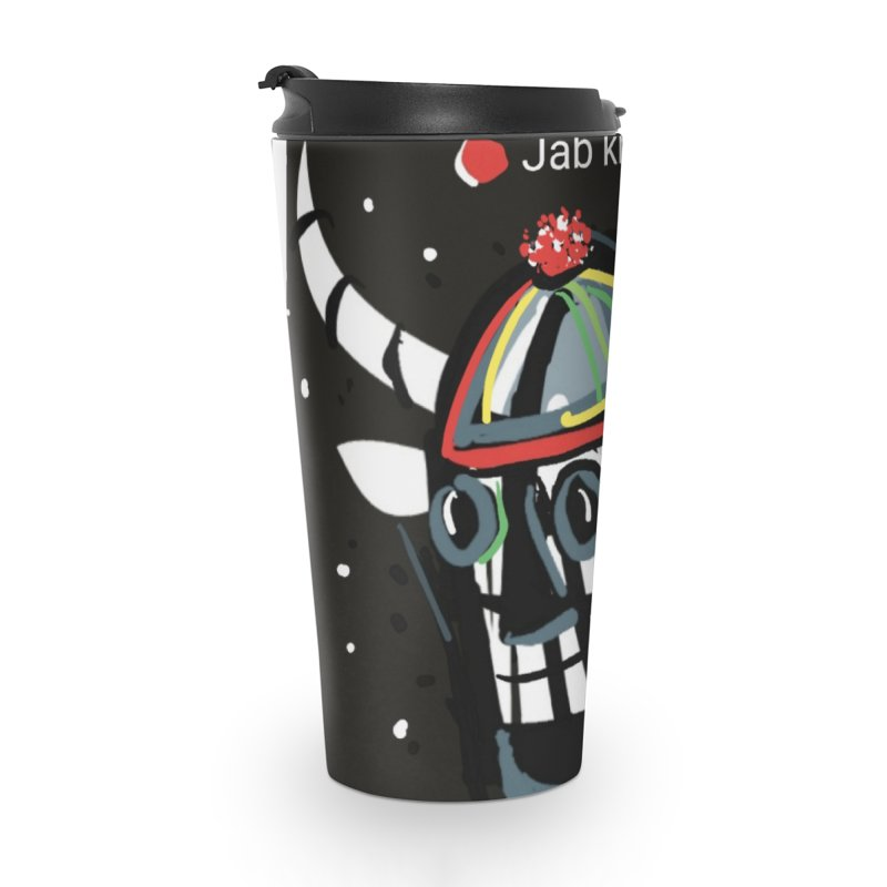 Jab knowledge Accessories Travel Mug by Mozayic's Artist Shop