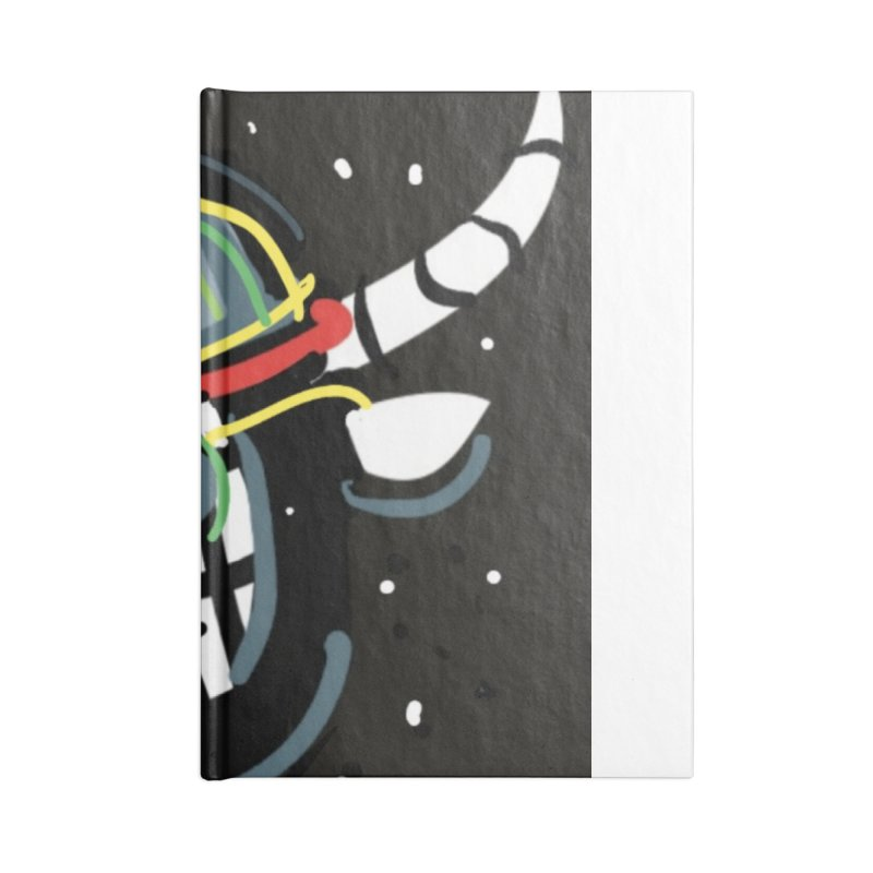 Jab knowledge Accessories Blank Journal Notebook by Mozayic's Artist Shop