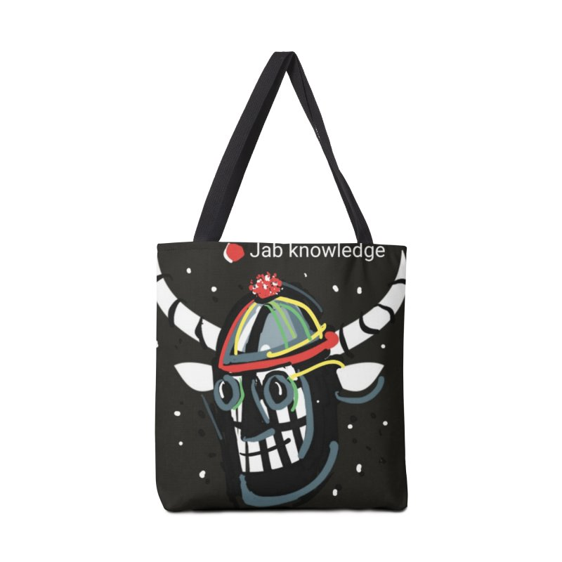 Jab knowledge Accessories Tote Bag Bag by Mozayic's Artist Shop