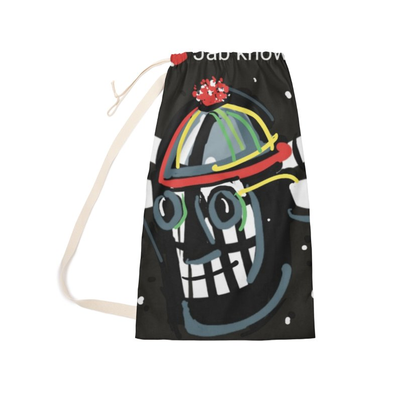 Jab knowledge Accessories Laundry Bag Bag by Mozayic's Artist Shop