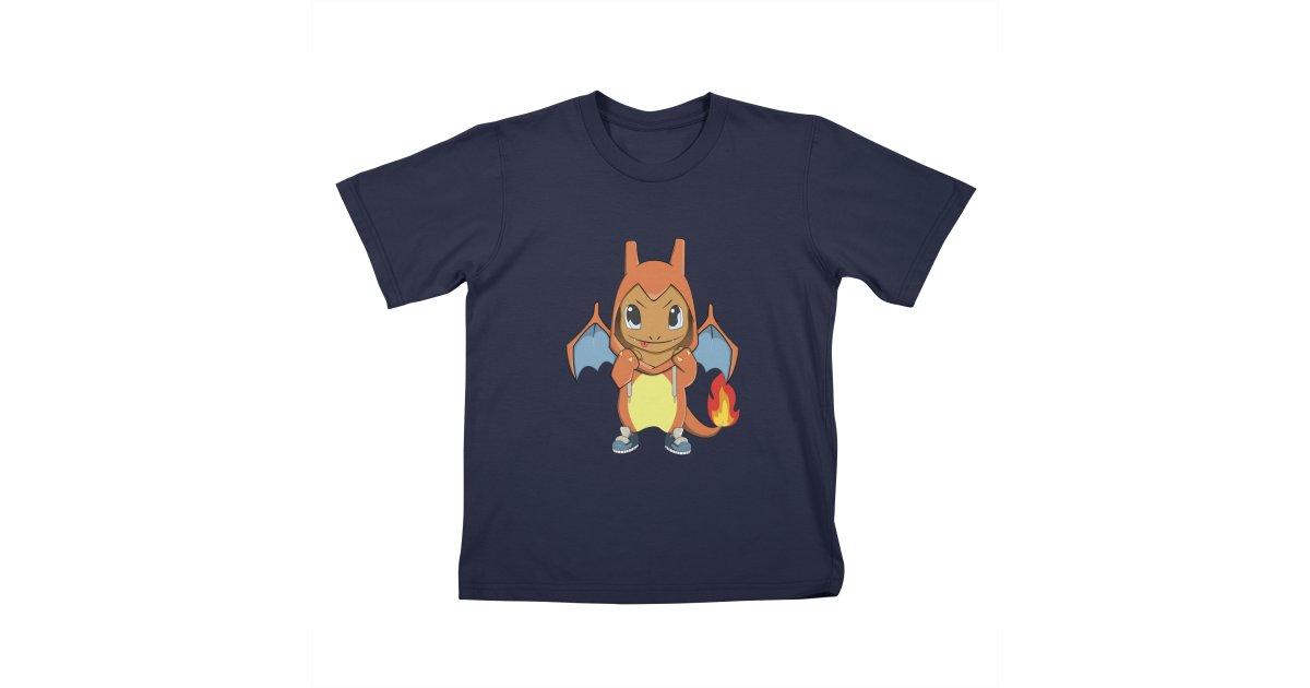 9969475d9 Mr14A charmander-wants-to-be-a-charizard kids t-shirt