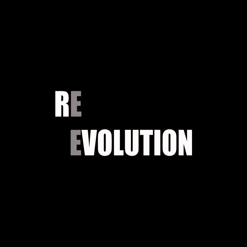RE - EVOLUTION (Dark Shirts) Kids Toddler Longsleeve T-Shirt by Mr Tee's Artist Shop