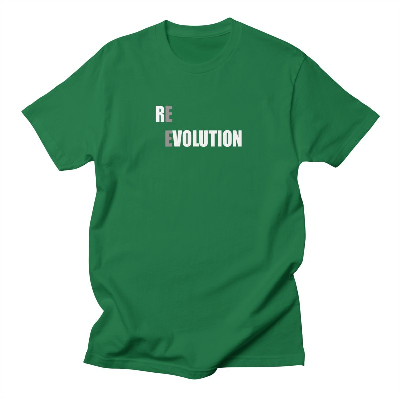 RE - EVOLUTION (Dark Shirts) Men's T-Shirt by Mr Tee's Artist Shop
