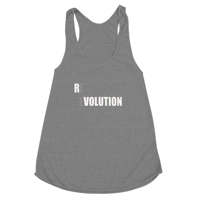 RE - EVOLUTION (Dark Shirts) Women's Tank by Mr Tee's Artist Shop