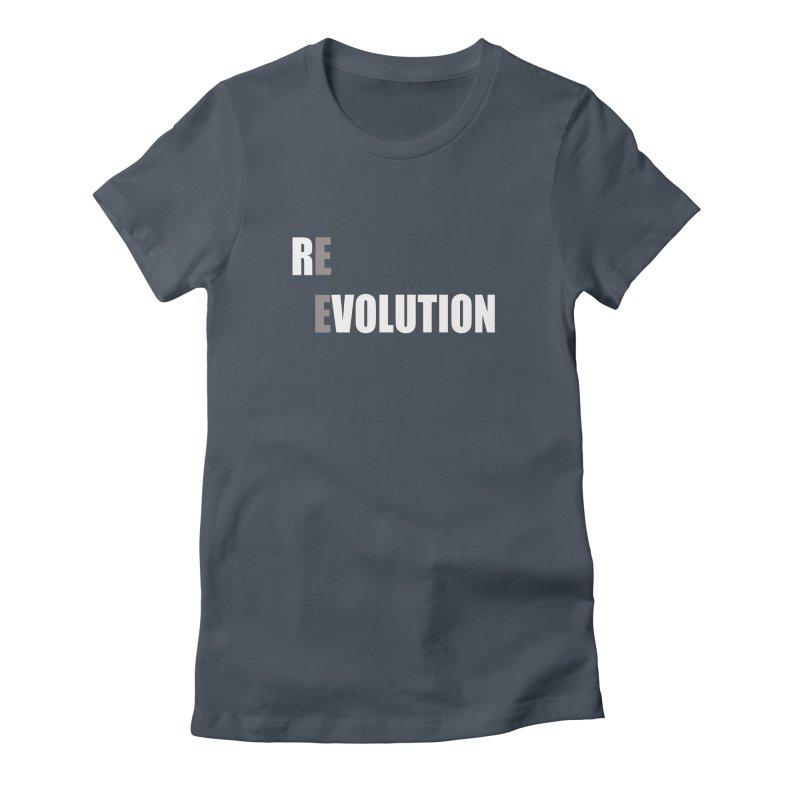 RE - EVOLUTION (Dark Shirts) Women's T-Shirt by Mr Tee's Artist Shop