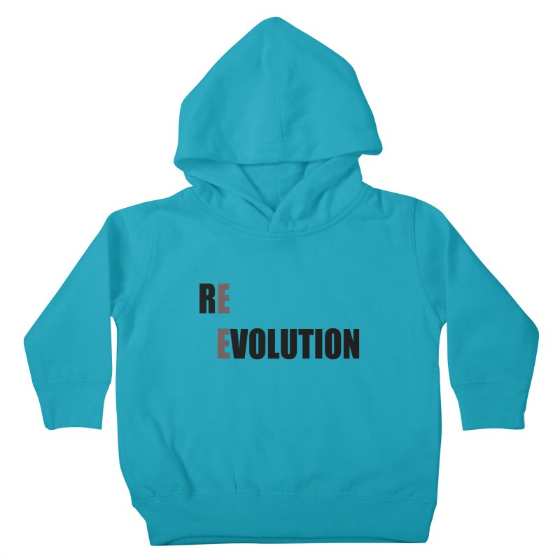 RE - EVOLUTION (Light Shirts) Kids Toddler Pullover Hoody by Mr Tee's Artist Shop