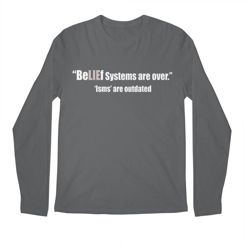 Be LIE f Systems (Dark Shirts) Men's Longsleeve T-Shirt by Mr Tee's Artist Shop
