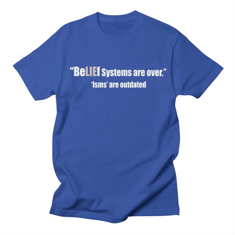 Be LIE f Systems (Dark Shirts) Men's T-Shirt by Mr Tee's Artist Shop