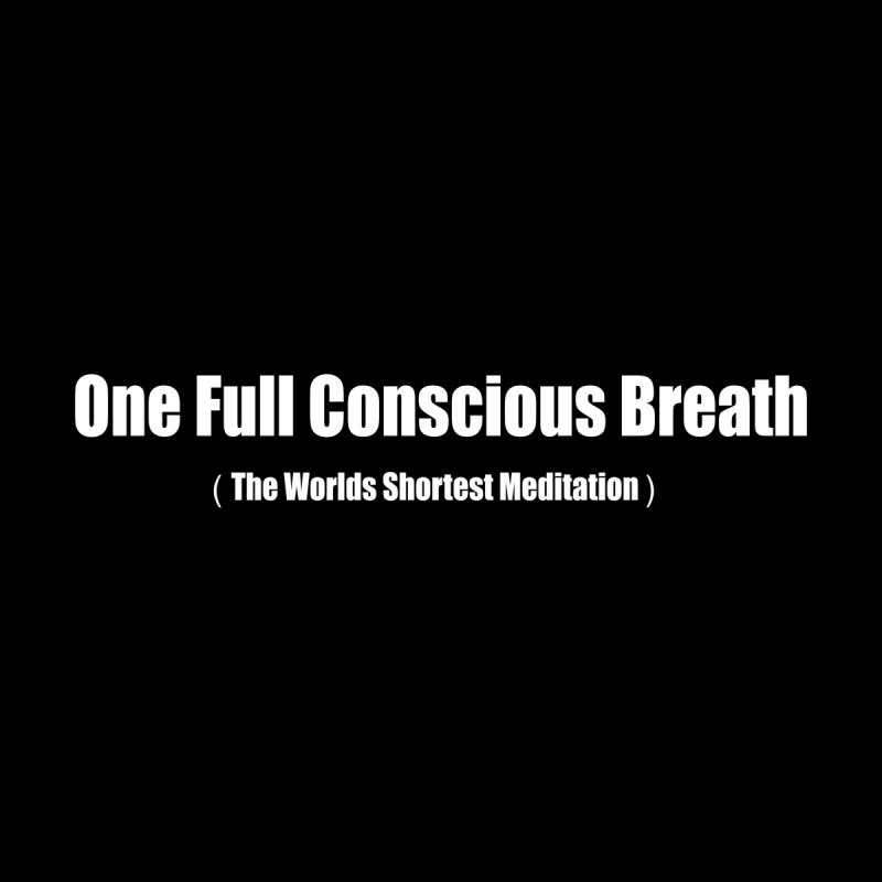 One Full Conscious Breath DARK SHIRTS Kids Toddler Longsleeve T-Shirt by Mr Tee's Artist Shop