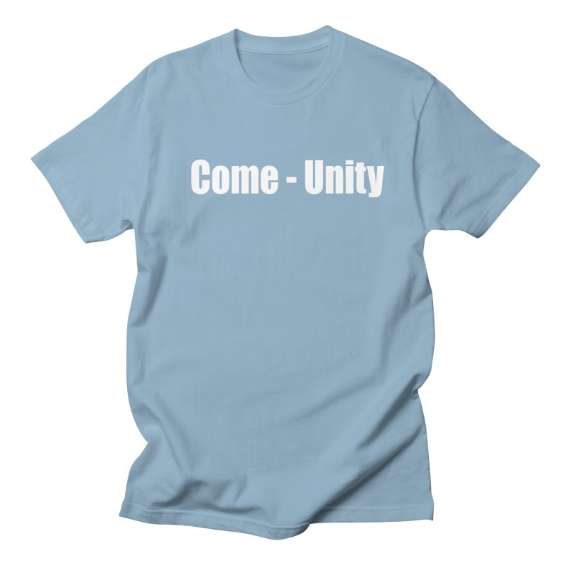COME-UNITY Men's Regular T-Shirt by Mr Tee's Artist Shop