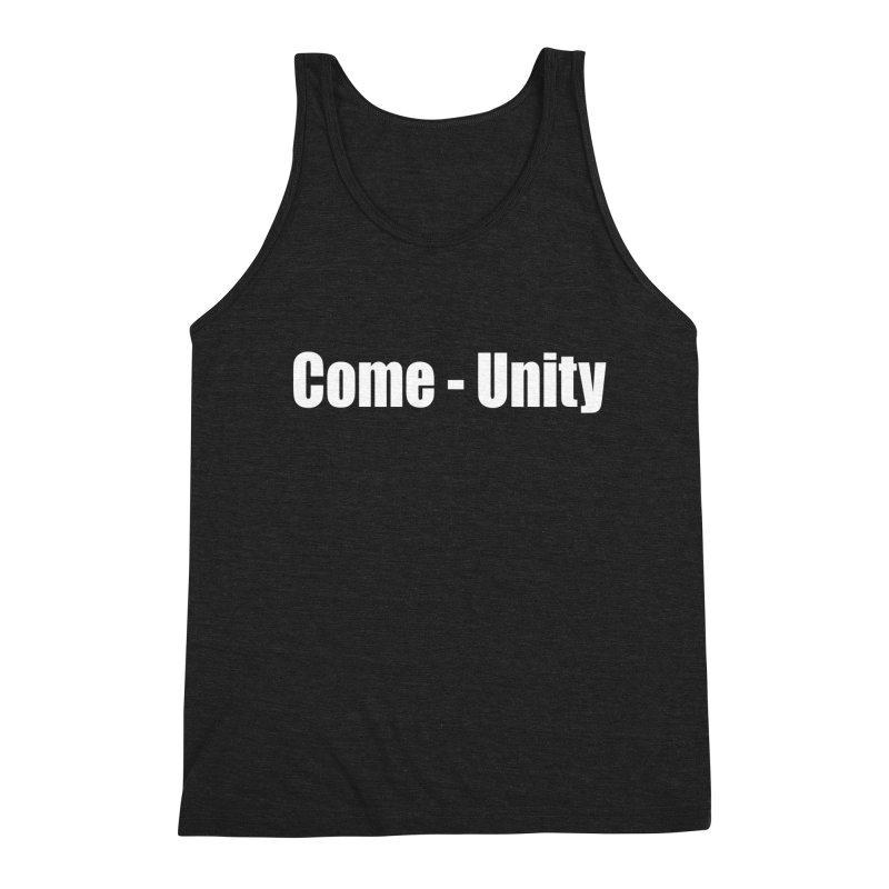 COME-UNITY Men's Tank by Mr Tee's Artist Shop