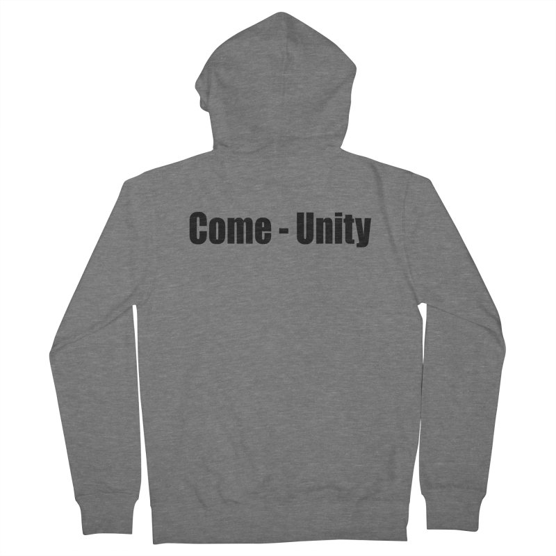 Come - Unity  LIGHT Shirts Women's Zip-Up Hoody by Mr Tee's Artist Shop