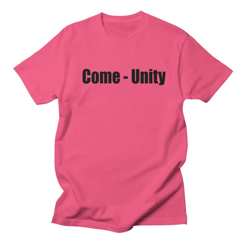 Come - Unity  LIGHT Shirts Men's T-Shirt by Mr Tee's Artist Shop