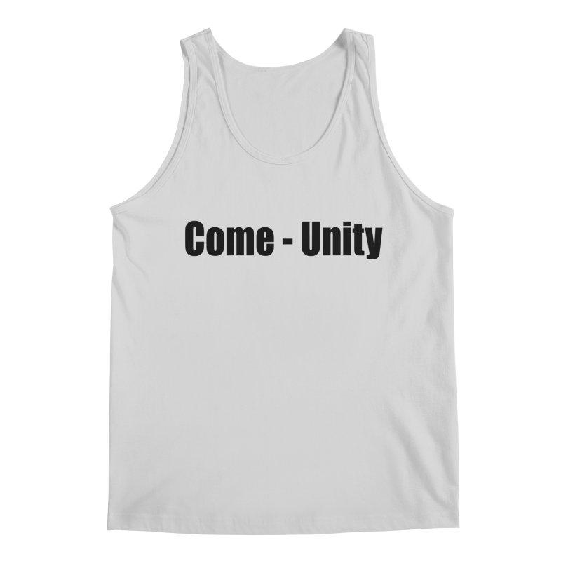 Come - Unity  LIGHT Shirts Men's Regular Tank by Mr Tee's Artist Shop