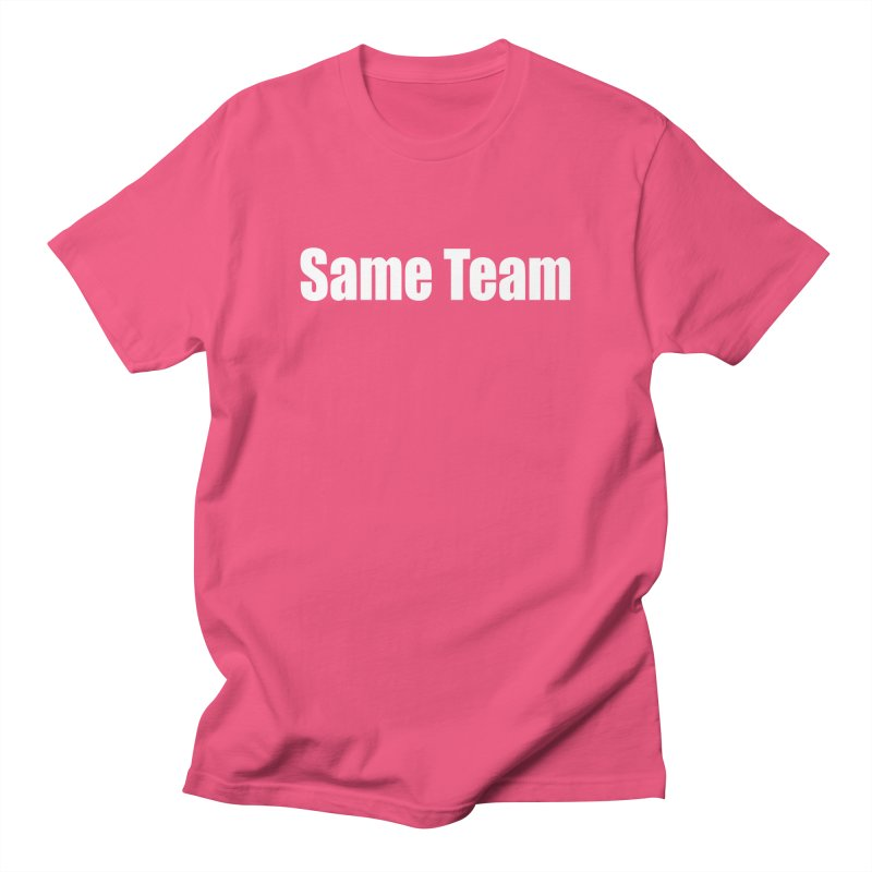 Same Team Men's Regular T-Shirt by Mr Tee's Artist Shop