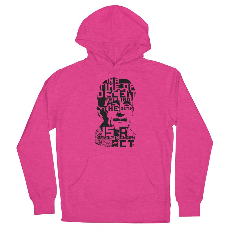 Orwell 'Deceit' (Black Style) Women's Pullover Hoody by Mr Tee's Artist Shop