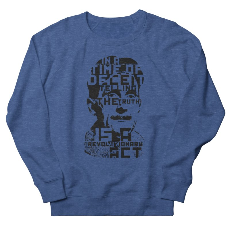 Orwell 'Deceit' (Black Style) Women's Sweatshirt by Mr Tee's Artist Shop