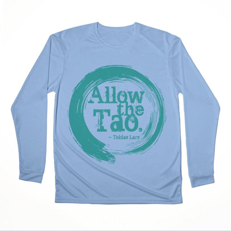 Allow the Tao (Turquoise) Women's Longsleeve T-Shirt by Mr Tee's Artist Shop