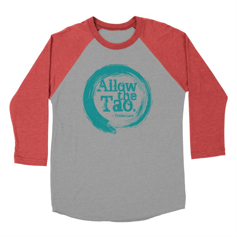 Allow the Tao (Turquoise) Women's Longsleeve T-Shirt by Mr Tee's Artist Shop