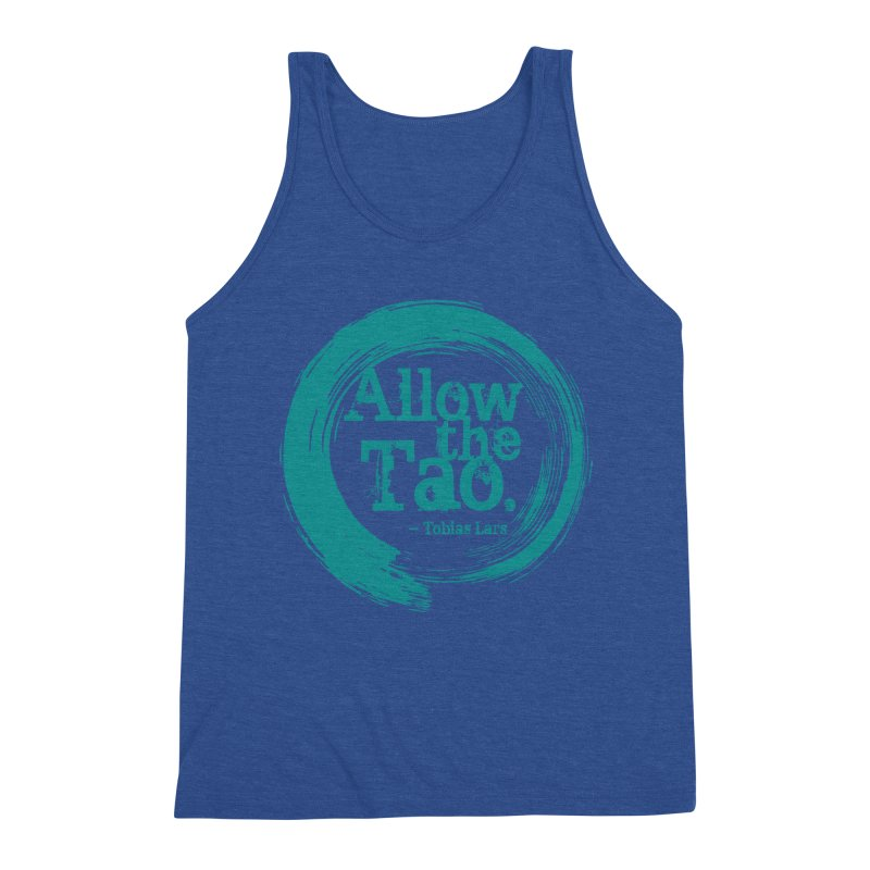 Allow the Tao (Turquoise) Men's Tank by Mr Tee's Artist Shop