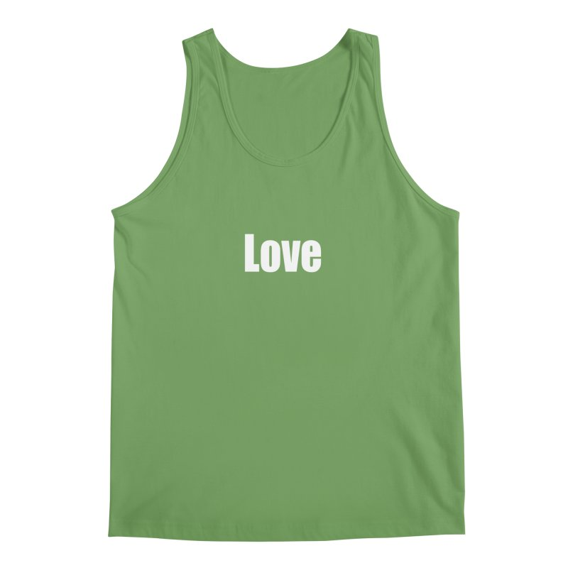 LOVE Men's Tank by Mr Tee's Artist Shop