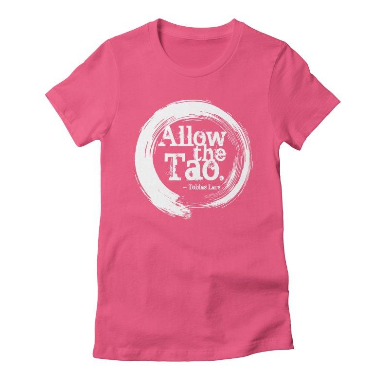 Allow the Tao - v3 Women's T-Shirt by Mr Tee's Artist Shop