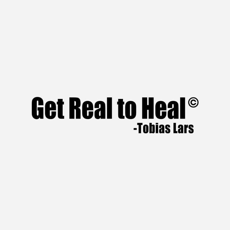 Get Real to Heal Kids Longsleeve T-Shirt by Mr Tee's Artist Shop