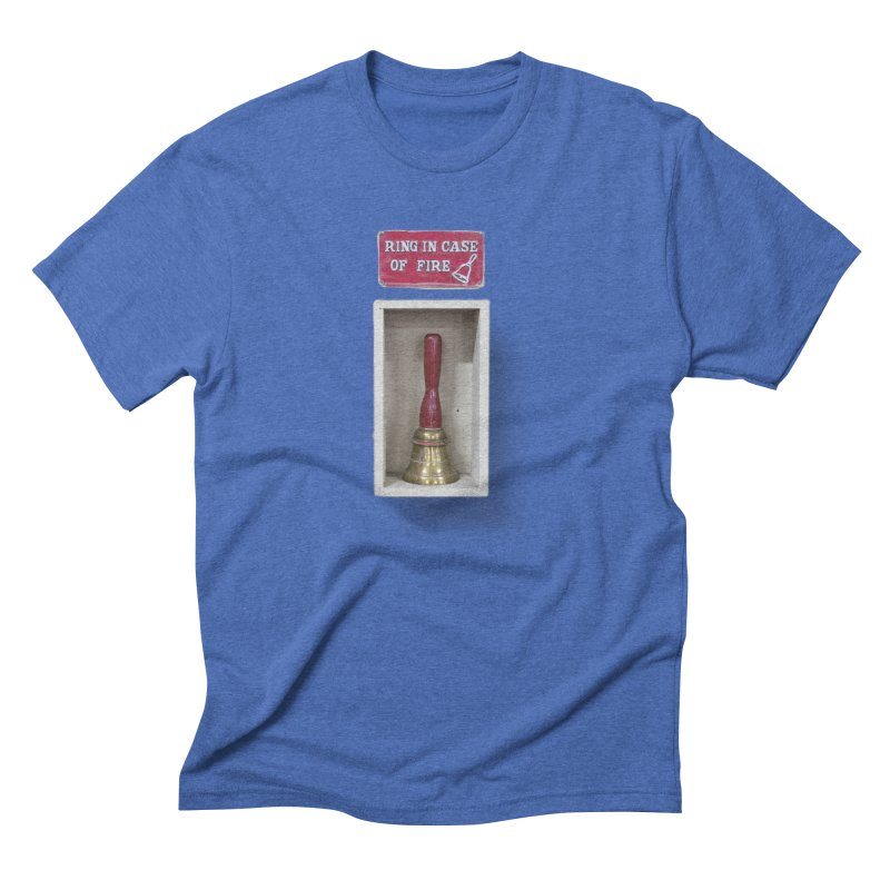 Ring In Case of Emergency Men's T-Shirt by Mrc's Artist Shop