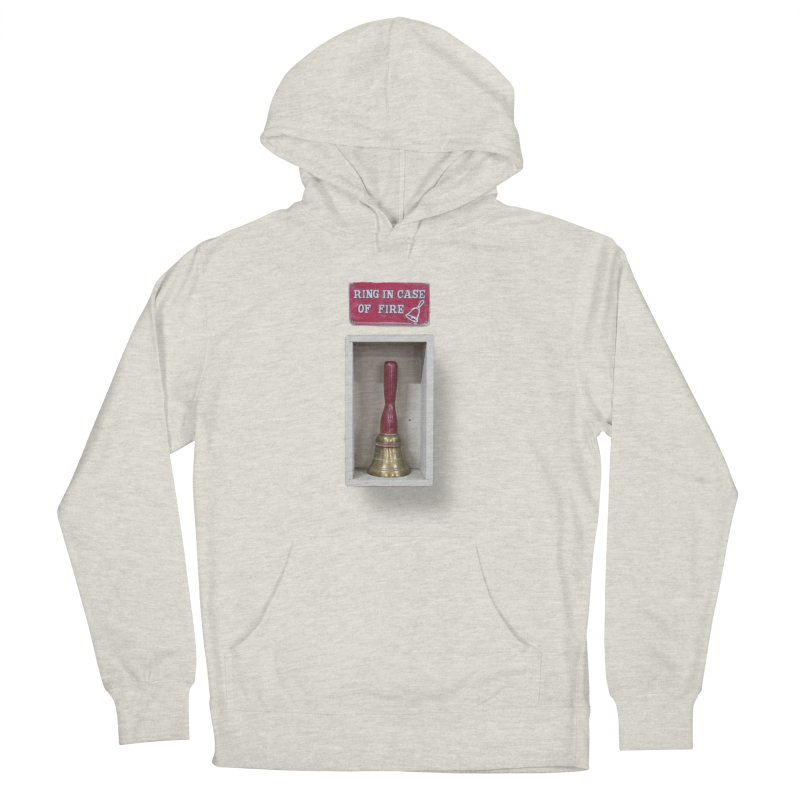 Ring In Case of Emergency Men's French Terry Pullover Hoody by Mrc's Artist Shop