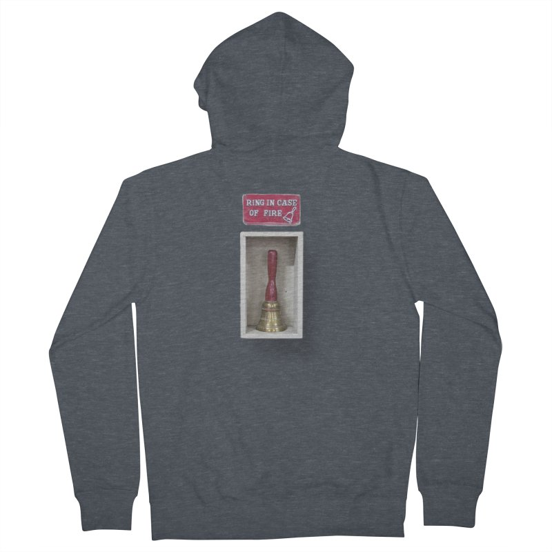 Ring In Case of Emergency Men's French Terry Zip-Up Hoody by Mrc's Artist Shop