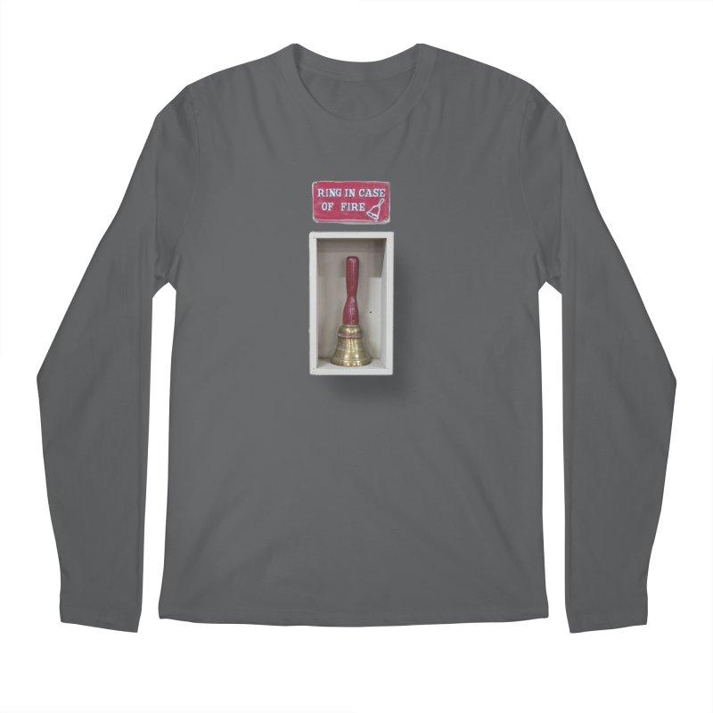 Ring In Case of Emergency Men's Regular Longsleeve T-Shirt by Mrc's Artist Shop