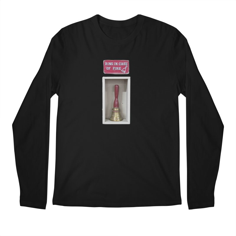 Ring In Case of Emergency Men's Regular Longsleeve T-Shirt by Mrc's Artist Shop