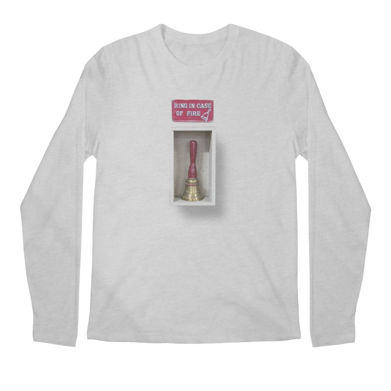 Ring In Case of Emergency Men's Longsleeve T-Shirt by Mrc's Artist Shop